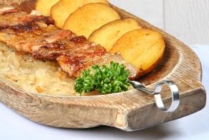 Блюда из свинины на углях